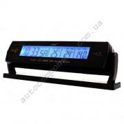 Авточасы 7013V LCD автомобильные часы с функцией будильника, календаря, термометра (t внутри,t за бортом)