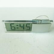 Авточасы 001 LCD автомобильные часы с функцией календаря, питание от встроенной батареи, на зеркало заднего вида,прозрачный корпус, крепление присоска