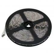 Гибкая светодиодная лента 300 SMD 3528, 5м, 12V, 8мм*2,7мм, влагостойкая, желтая