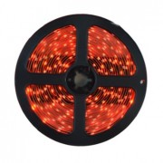 Гибкая светодиодная лента 300 SMD 3528, 5м, 12V, 8мм*2,7мм, влагостойкая, красная