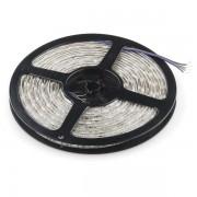 Гибкая светодиодная лента 300 SMD 5050, 5м, 12V, 8мм*2,7мм, влагостойкая, желтая