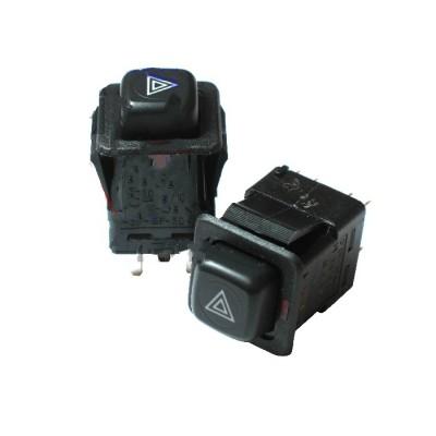 Выключатель аварийной сигнализации красн.. подсветка 376.3710-05.03М (Москвич, ВАЗ-2108, ЗАЗ)