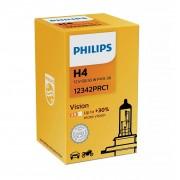 Автолампа PHILIPS 12342PRC1 H4 60/55W 12V P43t Premium