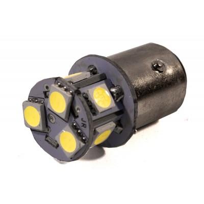 Светодиодная лампа AllLight T25  8 диодов 5050 1156 BA15S 12V WHITE