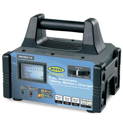 Автоматическое зарядное устройство RING RECB312 6/12В, 12А