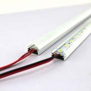 Cветодиодная лента на алюминиевой основе 12V 25см 5730SMD красная