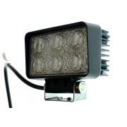 Светодиодная фара AllLight 09type18W 6chip OSRAM 3535 spot (тонкий радиатор)