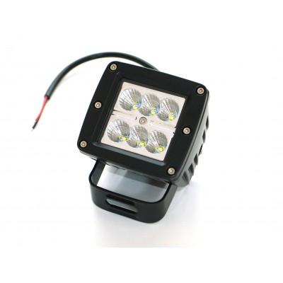 Светодиодная фара AllLight 15type 18W 6chip EPISTAR spot 9-30V