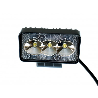 Светодиодная фара AllLight 09type9W 3chip EPISTAR spot 9-30V