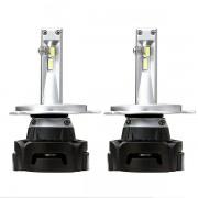 Комплект LED ламп ALed R H4 6000K 4000lm с вентилятором (для рефлекторной оптики)