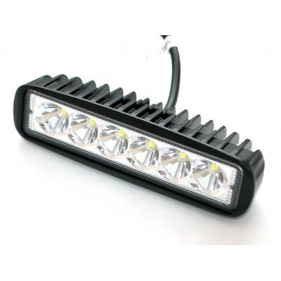 Светодиодная фара AllLight 07type 18W 6chip EPISTAR ближний свет 9-30V