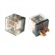 Реле 5-контактное с кронштейном прозрачное с диодом