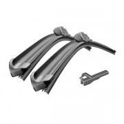 Комплект щеток стеклоочистителя бескаркасных Bosch AeroTwin 600/450 мм. LLE. [A 419 S] SKODA/VW Caddy (3 397 014 419)