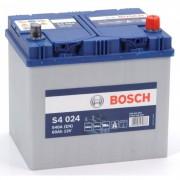 Автомобильный аккумулятор 0092S40240 S4  ASIA  SILVER   60 А*ч  -/+   540A