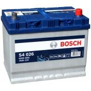 Автомобильный аккумулятор 0092S40260 S4  ASIA  SILVER   70 А*ч  -/+   630A