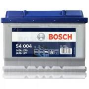 Автомобильный аккумулятор 0092S40040 S4  SILVER   60 А*ч  -/+   540A
