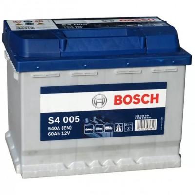 Автомобильный аккумулятор 0092S40050 S4  SILVER   60 А*ч  -/+   540A