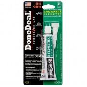 Герметик DoneDeal 6703 прозрачный силиконовый, 42,5 г