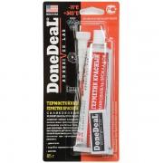 Герметик Done Deal 6726 термостойкий силиконовый красный 85 г