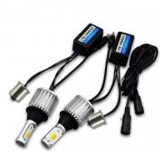 Ходовые огни BAXSTER DRL+Поворот Cob Light P21W