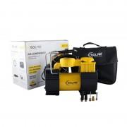 Автомобильный компрессор Solar AR210 однопоршневой 40 л/мин с фонариком