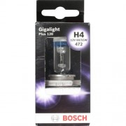 Автолампа BOSCH Gigalight Plus120 H4 60/55W 12V P43t (1987301160) 1шт./бокс
