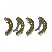 Тормозные колодки Bosch барабанные задние 0986487536