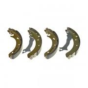 Тормозные колодки Bosch барабанные задние CITROEN/OPEL/PEUGEOT/SUZUKI/TOYOTA C1/Agil 0986487665