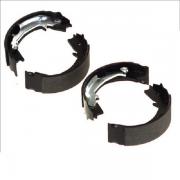 """Тормозные колодки Bosch барабанные задние CHEVROLET/DAEWOO Aveo/Lanos """"R 0986487714"""