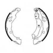 Тормозные колодки Bosch барабанные задние DACIA Logan/RENAULT Clio/Thalia -07 0986487819