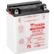 Мото аккумулятор Yuasa 12.6 Ah/12V YuMicron Battery (сухозаряжений) (YB12A-A)