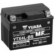 Мото аккумулятор Yuasa 3 Ah/12V MF VRLA Battery AGM (сухозаряжений) (YTX4L-BS)