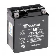 Мото аккумулятор Yuasa 6 Ah/12V MF VRLA Battery AGM (сухозаряжений) (YTX7L-BS)