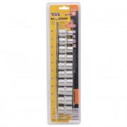 """Набор головок шестигранных 1/2"""" MasterTool - 10 шт. (8-19 мм)(78-1210)"""