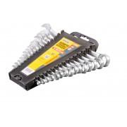 Набор рожково-накидных ключей MasterTool - 15 шт. 6-22 мм (71-2115)