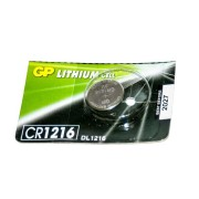 Батарейка GP дисковая Lithium Button Cell 3.0V CR1216-7U5 литиевая