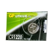 Батарейка GP дисковая Lithium Button Cell 3.0V CR1220-7U5 литиевая