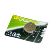 Батарейка GP дисковая Lithium Button Cell 3.0V CR1632-7U5 литиевая