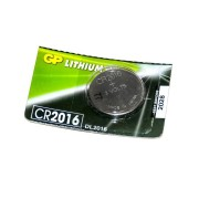 Батарейка GP дисковая Lithium Button Cell 3.0V CR2016-8U5 литиевая