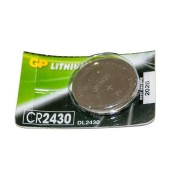 Батарейка GP дисковая Lithium Button Cell 3.0V CR2430-8U5 литиевая