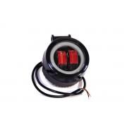 Светодиодная фара AllLight JR-O-20W КРУГЛАЯ 2 chip CREE spot  9-30V