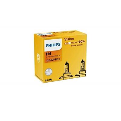 Автолампа PHILIPS 12342PRC2 H4 60/55W 12V P43t Premium 2pcs.