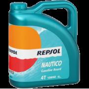 Масло для 4T двигателей 10W-40 NAUTICO GASOL Board 4л REPSOL / RP132N54