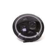 Комплект светодиодных фар AllLight JR-4/1-60W ближний+дальний аналог НИВА (управление габаритами через смартфон)