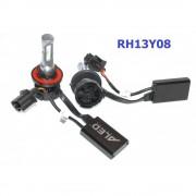 Комплект LED ламп ALed H13 RH13Y08 (ближний+дальний) 30W 6000K