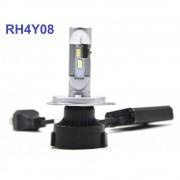 Комплект LED ламп ALed R H4 RH4Y08 6000K (для рефлекторной оптики)