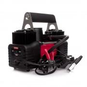 Автомобильный компрессор STORM 20400 двухпоршневой Bi-Power 85 л/мин на клеммы АКБ